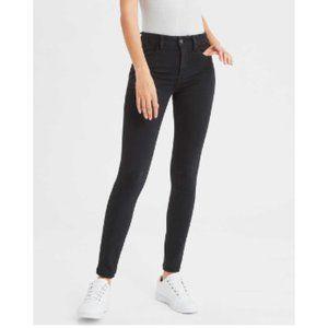 AMERICAN EAGLE Super Hi-Rise Jegging Jeans Black0S